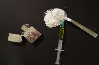 heroin sprøyte