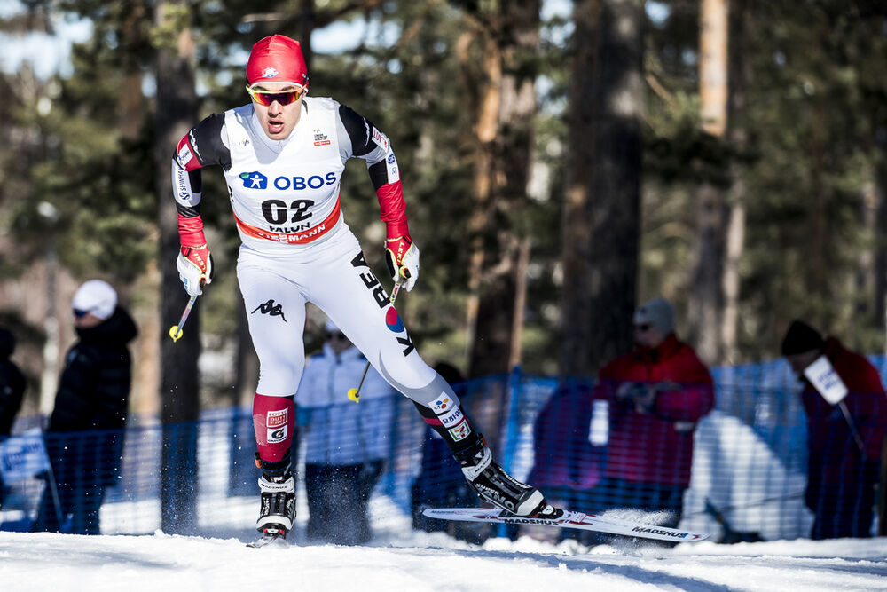 16.03.2018, Falun Sweden (SWE):Magnus Kim (KOR) - FIS world cup cross-country, individual sprint, Falun (SWE). www.nordicfocus.com. © Modica/NordicFocus. Every downloaded picture is fee-liable.