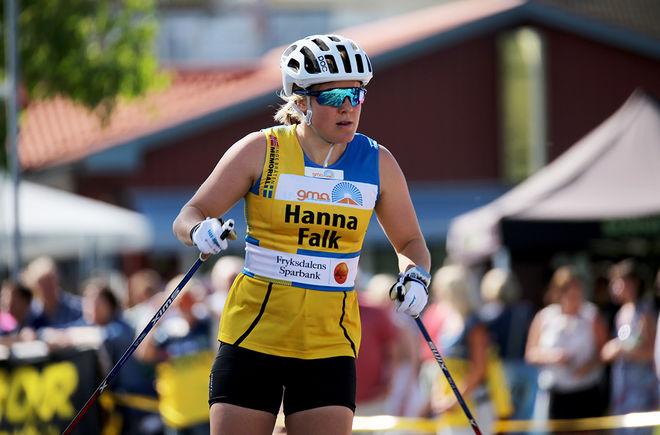 """HANNA FALK var åter igen helt överlägsen i """"Inge Bråten Memorial"""" i Sunne. Hon vann prologen med över 4 sekunder och fortsatt med att vinna alla sina heat, inklusive finalen. Foto/rights: MARCELA HAVLOVA/KEK-stock"""