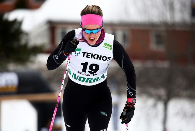 JENNY LARSSON slog Hedda Bångman med över en minut på 10 km i Östersund strax innan helgen. Foto/rights: KJELL-ERIK KRISTIANSEN/KEK-stock