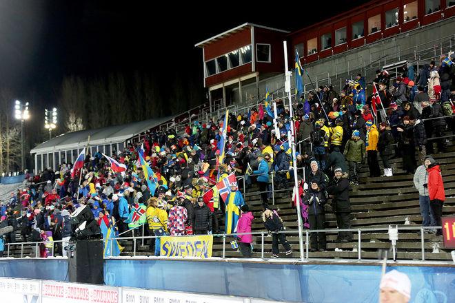 ÖSTERSUND får åter igen premiären i världscupen i skidskytte nästa säsong. I vintras hade man ju inte det på grund av att VM gick här. Foto/rights: MARCELA HAVLOVA/kekstock.com