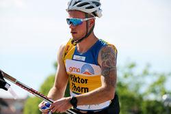 VIKTOR THORN var yngst av dom fyra svenska OS-åkarna i sprint. Han slutade 27:a i sin OS-debut, men han är en av dom största talangerna inför åren som kommer. Slår han till i Malung den 19 juli? Foto/rights: MARCELA HAVLOVA/KEK-stock