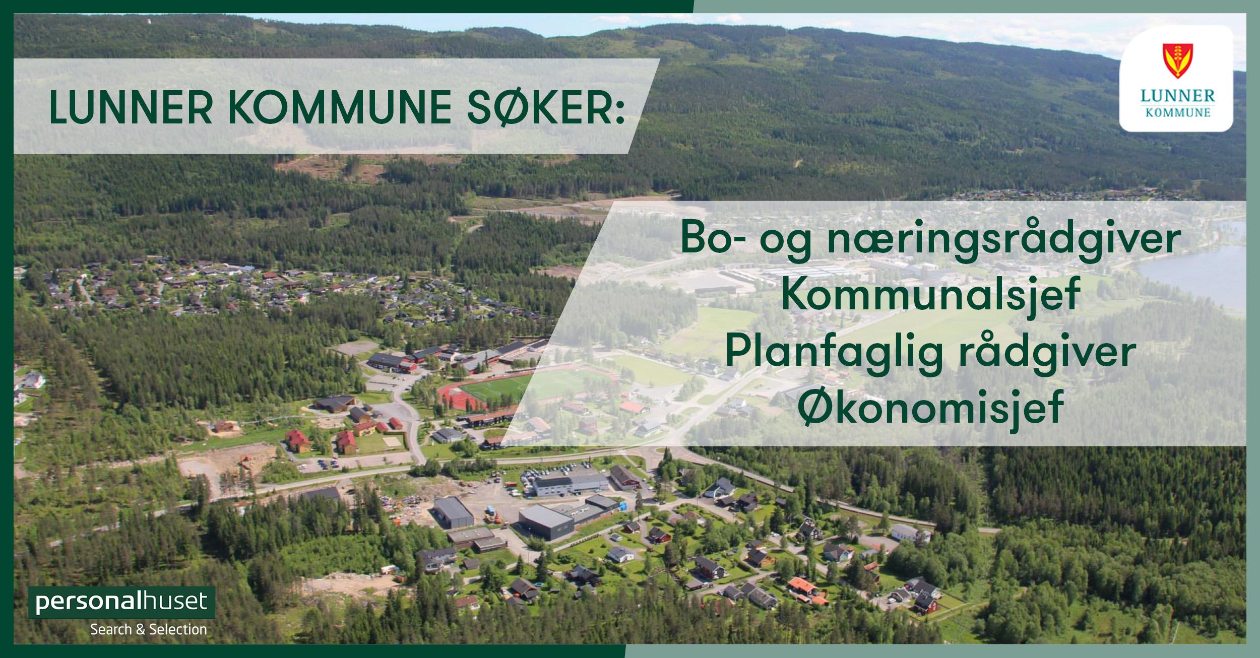 Ledige stillinger i Lunner kommune via Personalhuset
