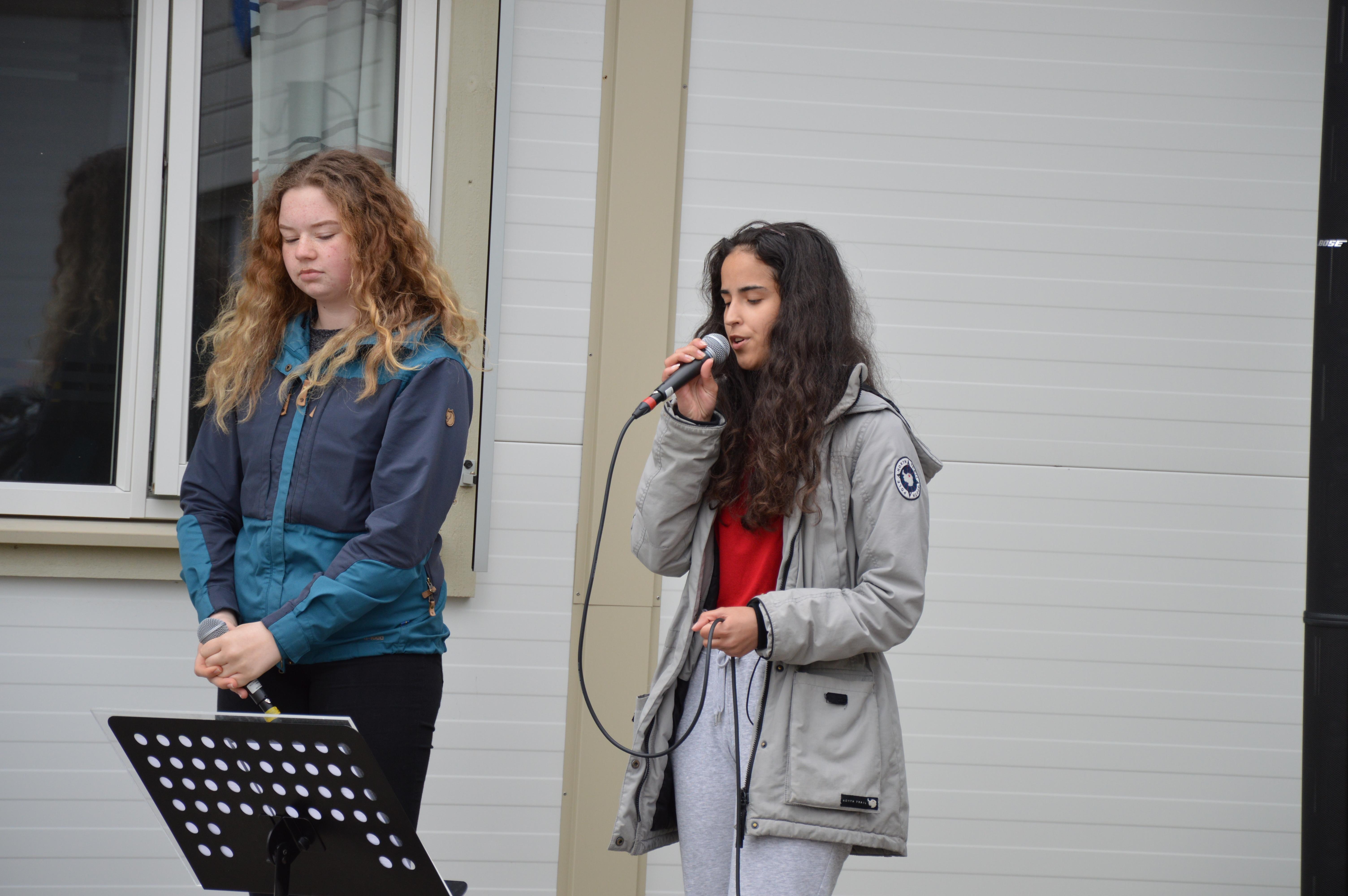 Kulturskolekonsert utenfor rådhuset 11