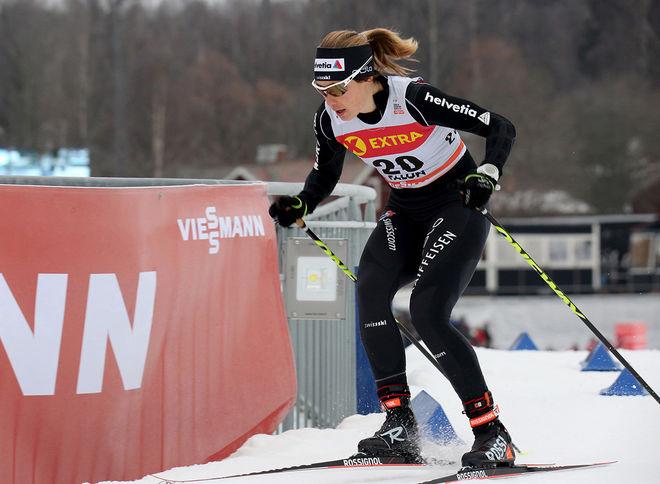LAURIEN VAN DER GRAAFF från Schweiz vann två sprinttävlingar i världscupen i vintras och nu utmanar den 31-åriga schweiziskan Stina Nilsson i Dansbandssprinten i Malung torsdagen den 19 juli. Foto/rights: MARCELA HAVLOVA/KEK-stock