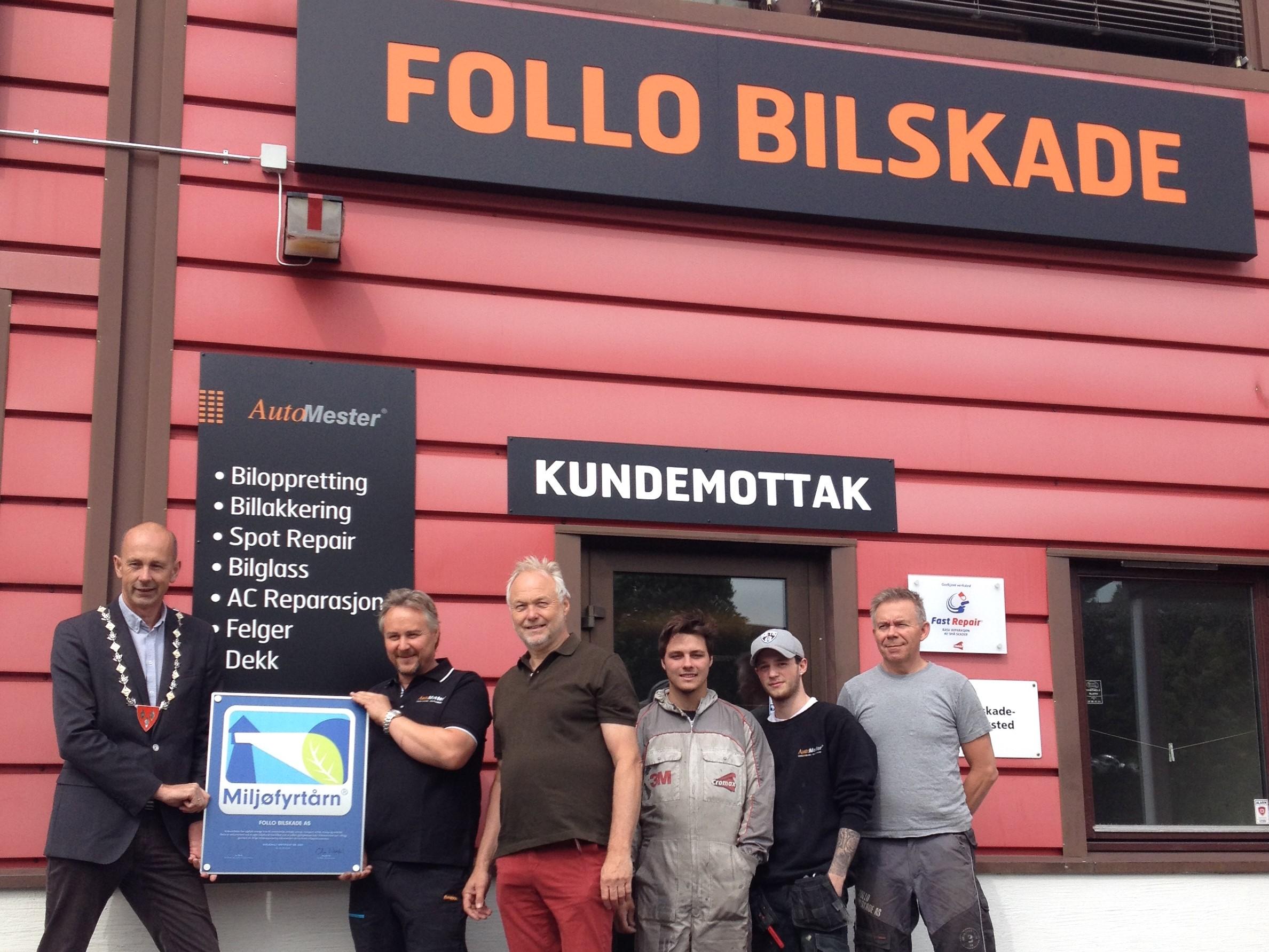 Follo Bilskade - miljøfyrtårn 3