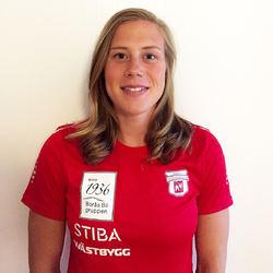 MARIA NORDSTRÖM i färgerna till sin nya klubb: Borås SK.