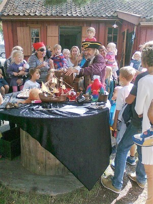 Sjørøverdag på Son Kystkultursenter