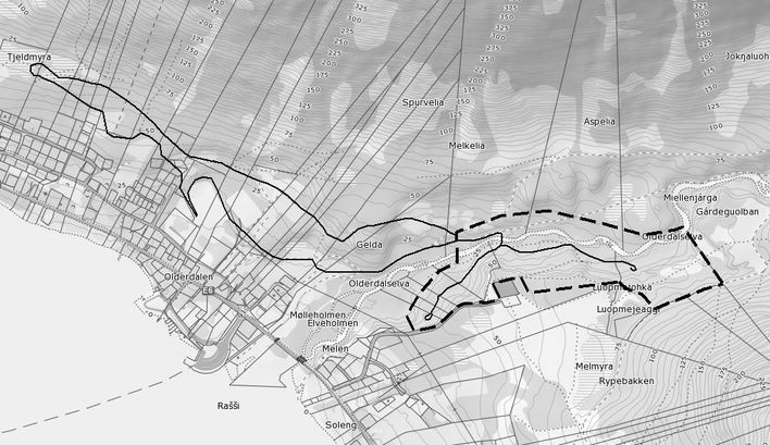 Skisse planområde