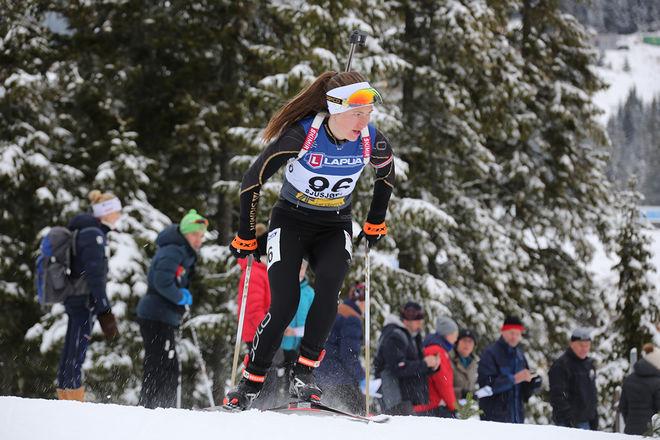 DARYA DOMRACHEVA har bestämt sig: Hon lägger av - precis som äkta mannen Ole Einar Bjørndalen. Hon blev OS-drottning i Sochi 2014. Foto/rights: MARCELA HAVLOVA/KEK-stock