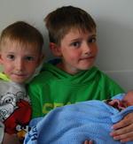 Noah Antoni Mikalsen nyfødt