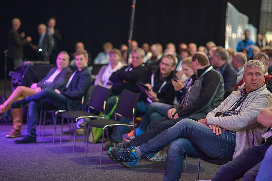 Seminardeltakere under messen i 2016