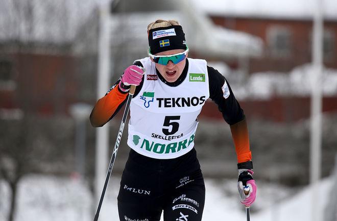 MAJA DAHLQVIST, Falun-Borlänge SK är en av världens bästa sprinters på 100 meter. Hon tävlar i Idresprinten på fredag. Foto/rights: KJELL-ERIK KRISTIANSEN/KEK-stock