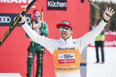 25.03.2018, Schonach, Germany (GER):Akito Watabe (JPN) - FIS world cup nordic combined, individual gundersen HS106/15km, Schonach (GER). www.nordicfocus.com. © Modica/NordicFocus. Every downloaded picture is fee-liable.