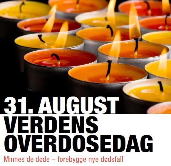 Verdens overdosedag 31. august