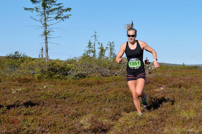 STINA NILSSON skall försvara segern i fjällmaraton i Sälen den 25 augusti. Foto: ARRANGÖREN