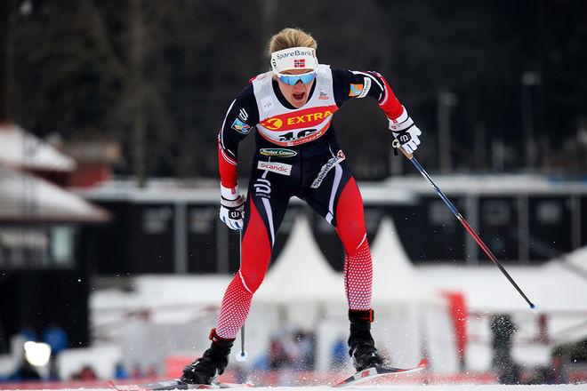 KATHRINE ROLSTED HARSEM är förkyld och har fått lämna återbud till Tour de Ski. Hon ersätts av Silje Øyre Slind. Foto/rights: MARCELA HAVLOVA/KEK-stock
