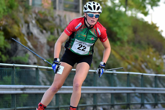 HANNA ABRHAMSSON har flera landslagsuppdrag både sommar och vinter. Nu kommer hon att åka för Ulricehamns IF nästa säsong. Foto/rights: ROLF ZETTERBERG/kekstock.com