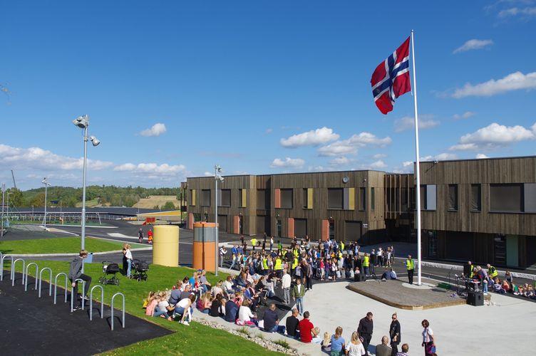 Solberg skole offisiell åpning 03.09.2018
