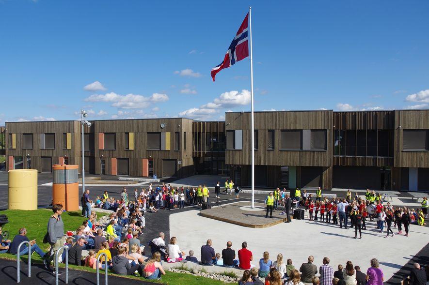2018-09-03 Offisiell åpning Solberg skole  (3)