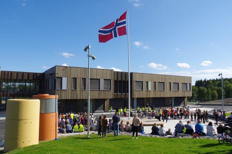 2018-09-03 Offisiell åpning Solberg skole  (4)