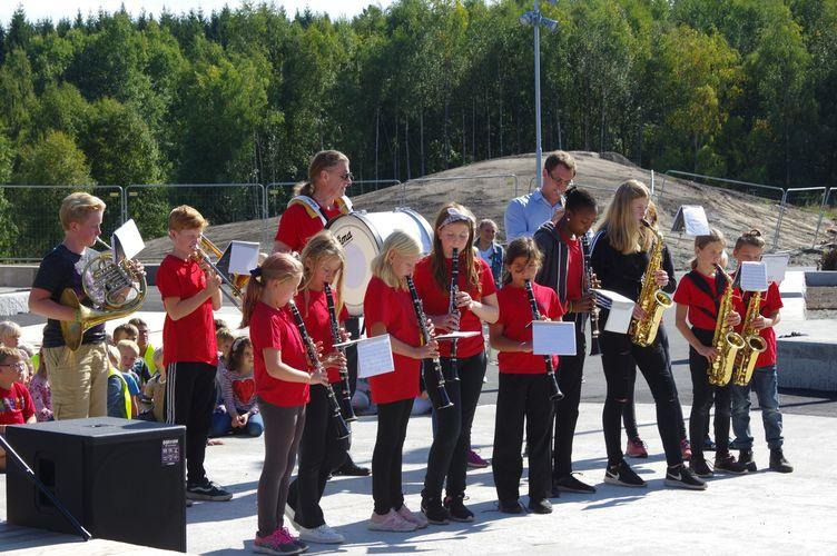 2018-09-03 Offisiell åpning Solberg skole  (8)