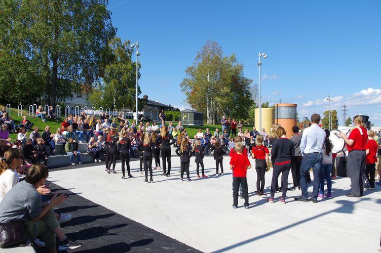 2018-09-03 Offisiell åpning Solberg skole  (9)