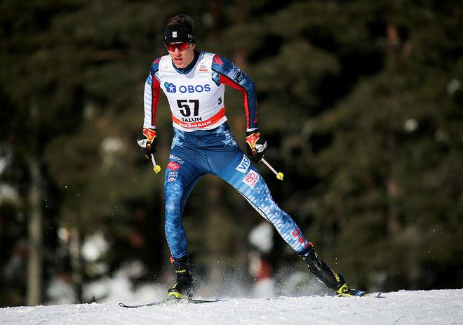 KEVIN BOLGER är en intressant sprinter som visade sig i slutet av förra världscupsäsongen. Här från finalen i Falun. Nu vann han den första sprinten i New Zealand Cup. Han har tränat mycket i Norge. Foto/rights: MARCELA HAVLOVA/KEK-stock