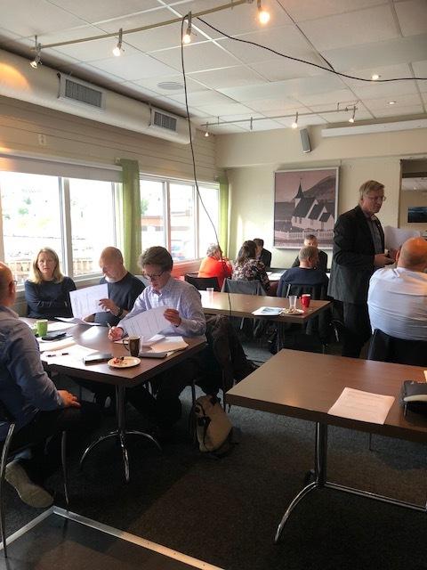 gruppearbeid Kjøllefjord 2018