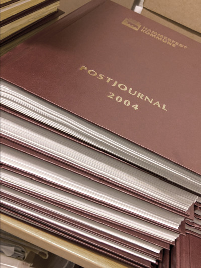 Papirbasert postjournal