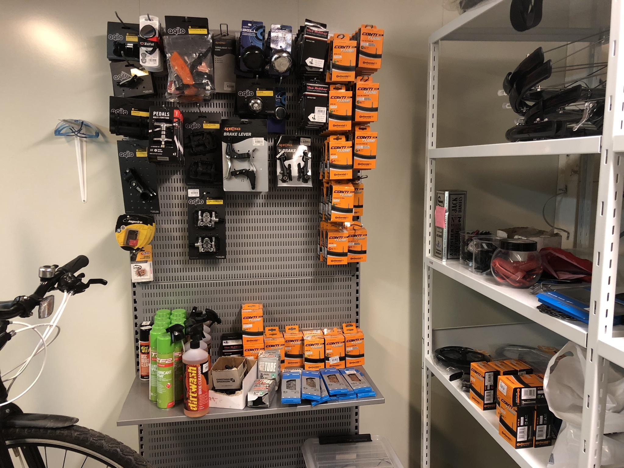 Sykkelverksted tilbake på ASVO_utstyr