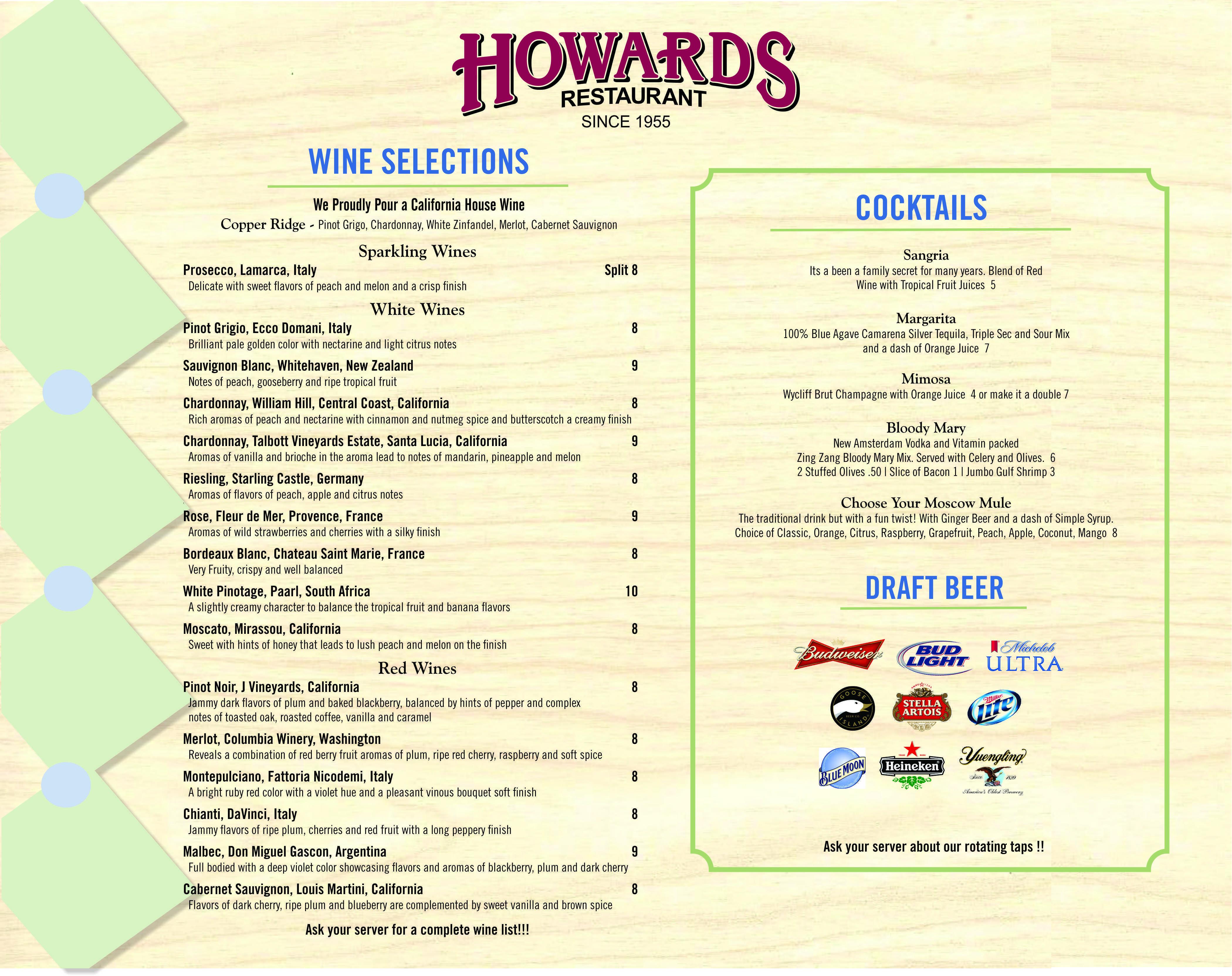 Howards Lunch Menu Back Oct 2018.jpg