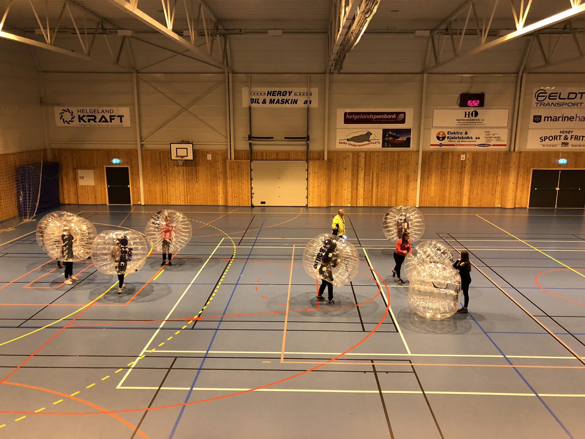 Idrettslaget 75 år_boblefotball