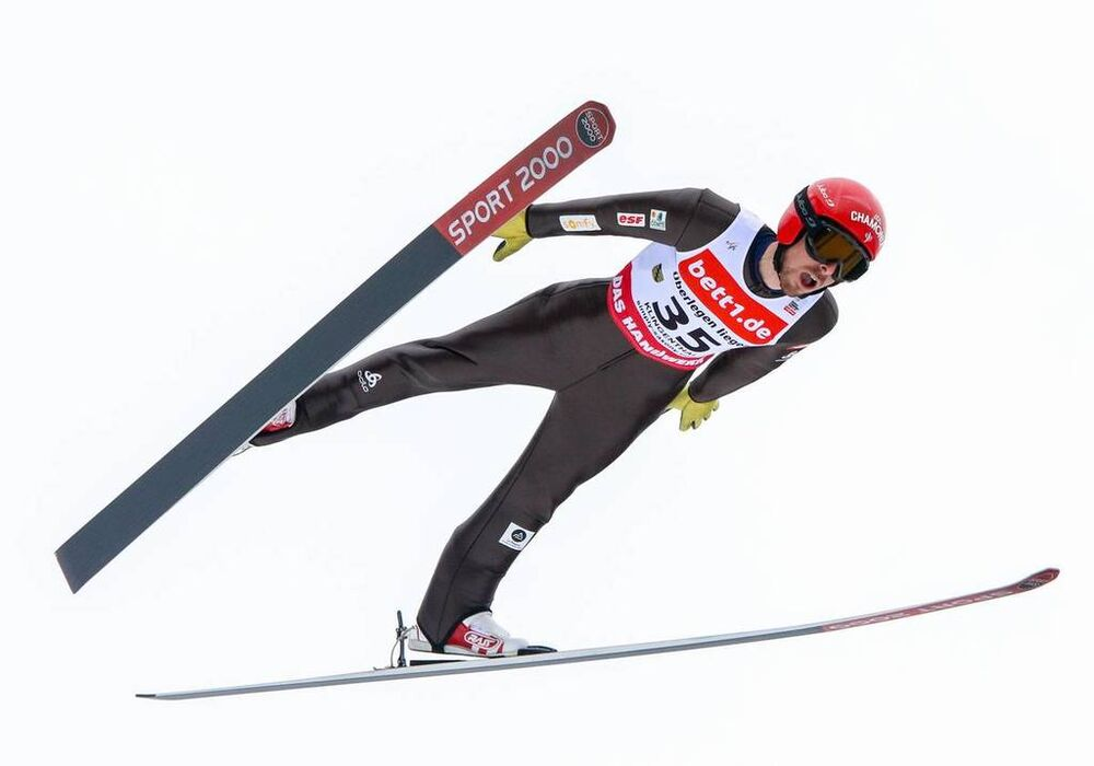 17.03.2018, Klingenthal, Germany (GER):Francois Braud (FRA) - FIS world cup nordic combined, individual gundersen HS140/10km, Klingenthal (GER). www.nordicfocus.com. © Volk/NordicFocus. Every downloaded picture is fee-liable.
