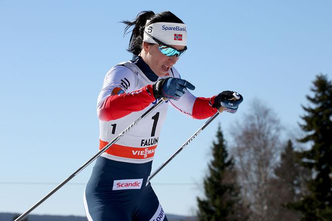 MARIT BJØRGEN avslöjar nu att det var problem med hennes dopingprov under OS i Pyeongchang. Glaset gick inte att stänga på riktigt och hon blev rädd för att någon skulle manipulera hennes prov. Foto/rights: MARCELA HAVLOVA/KEK-stock