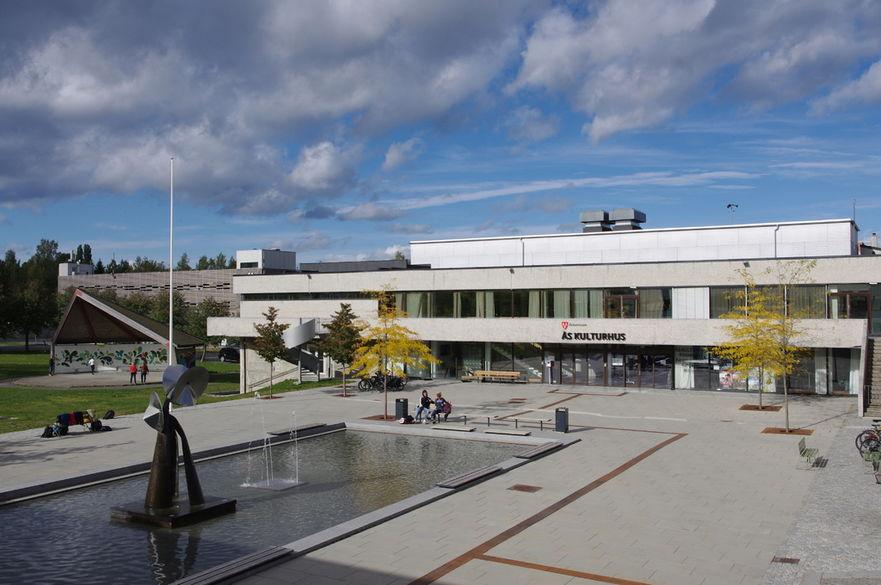 Borggården Ås rådhus