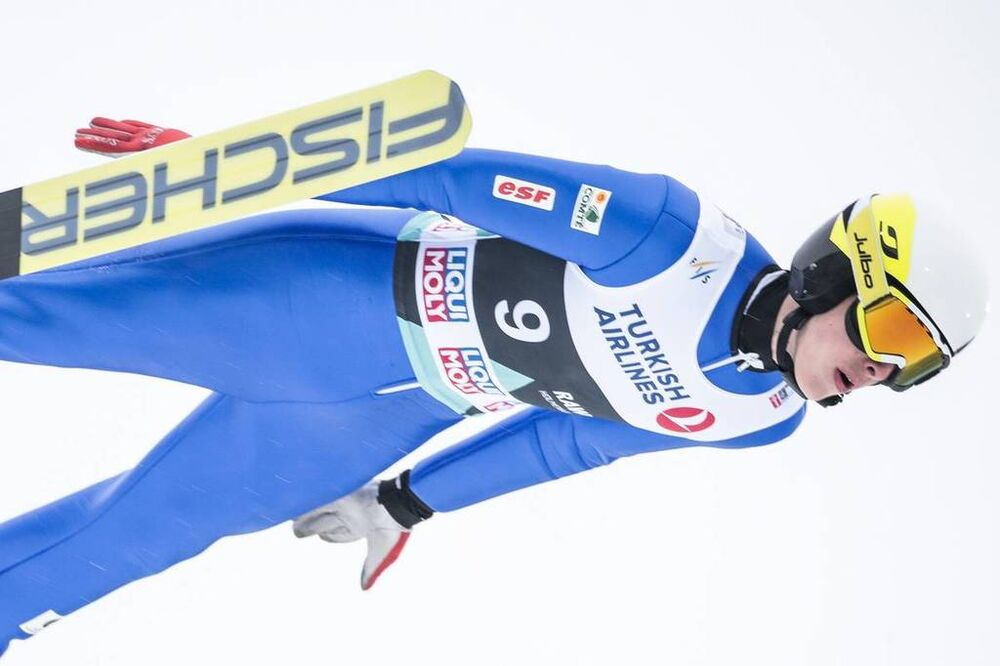 11.03.2018, Oslo, Norway (NOR):Jonathan Learoyd (FRA) - FIS world cup ski jumping, individual HS134, Oslo (NOR). www.nordicfocus.com. © Modica/NordicFocus. Every downloaded picture is fee-liable.