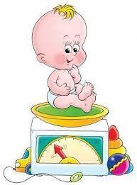 Baby på vekt