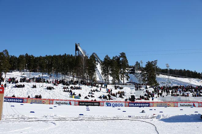 SVERIGE kommer till start med både landslag och nationell grupp i helgens världscuptävlingar på Lugnet i Falun. Foto/rights: MARCELA HAVLOVA/kekstock.com