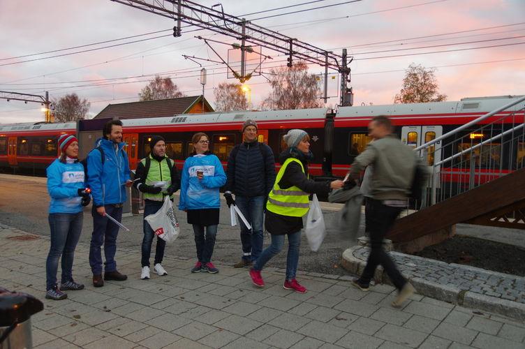 2018-10-26 Synlig syklist Ås stasjon