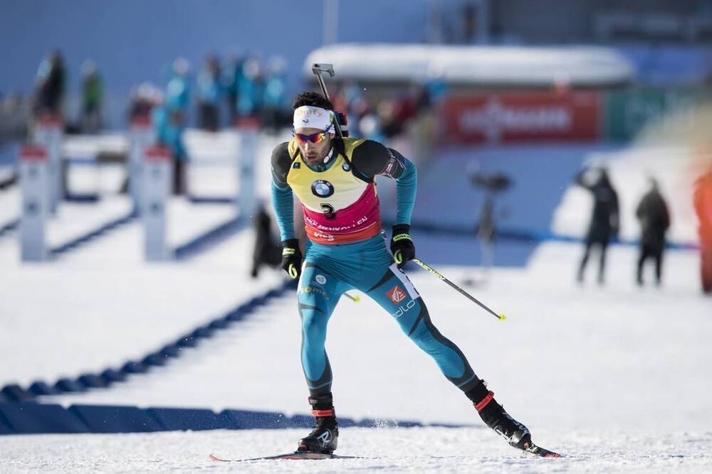 17.03.2018, Oslo, Norway (NOR):Martin Fourcade (FRA) - IBU world cup biathlon, pursuit men, Oslo (NOR). www.nordicfocus.com. © Manzoni/NordicFocus. Every downloaded picture is fee-liable.