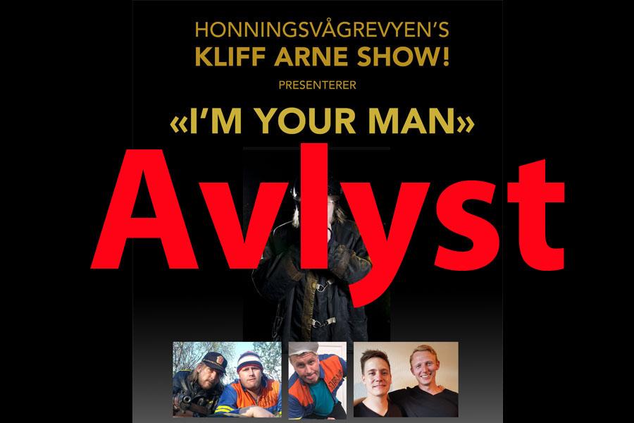 Kliff Arne Show_avlyst