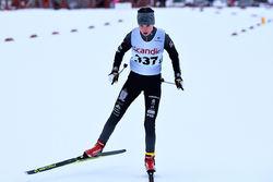IDA ANDERSSON har redan börjat tävla igen efter sjukdom. Hon har gjort flera bra lopp i juniorklassen. Foto: ROLF ZETTERBERG