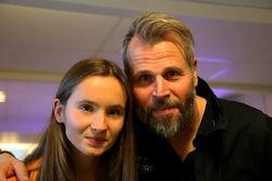 GENOM SJUKDOMEN hittade Ida och pappa Ante Andersson åter tillbaka till varandra och det var bakgrunden för arbetet med We & Sports som nu officiellt har börjat sitt arbete. Foto/rights: KJELL-ERIK KRISTIANSEN/KEK-stock