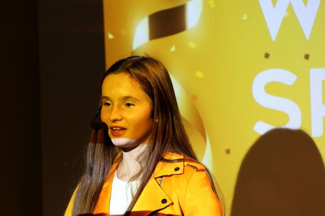 17-ÅRIGA Ida Andersson gav anorexian ett ansikte då hon berättade om sina problem på We & Sports presskonferens i Östersund. Foto/rights: KJELL-ERIK KRISTIANSEN/KEK-stock