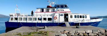 Bilete bokbåten Epos