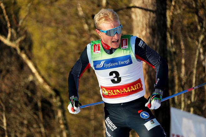 JENS BURMAN är van att tävla i Bruksvallsloppet, här från förra årets tävling. Han är bara en av få landslagsåkare som är anmäld till helgens lopp. Foto/rights: KJELL-ERIK KRISTIANSEN/kekstock.com