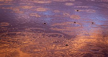 Illustrasjonsbilde regndråper