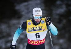 24.11.2018, Ruka, Finland (FIN):Lucas Chanavat (FRA) - FIS world cup cross-country, individual sprint, Ruka (FIN). www.nordicfocus.com. © Modica/NordicFocus. Every downloaded picture is fee-liable.