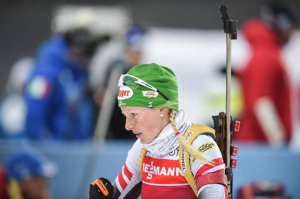 21.03.2018, Tyumen, Russia (RUS):Lisa Theresa Hauser (AUT) - IBU world cup biathlon, training, Tyumen (RUS). www.nordicfocus.com. © Tumashov/NordicFocus. Every downloaded picture is fee-liable.